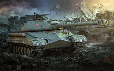 World of tanks, IS-8, IS-5, T-10, Object 730
