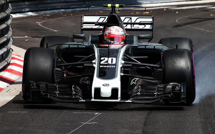 Download Wallpapers Kevin Magnussen Haas F1 Team 4k Formula One F1 2017 Cars Formula 1 Vf17 For Desktop Free Pictures For Desktop Free