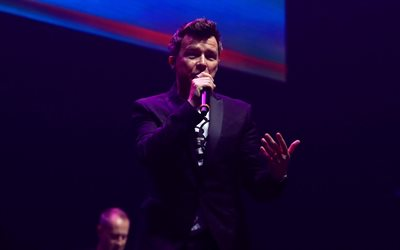 Rick Astley, 4k, english singer, concert, guys, celebrity