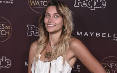 Paris Jackson, en 2017, de la beauté, de Hollywood, l'actrice américaine, blonde