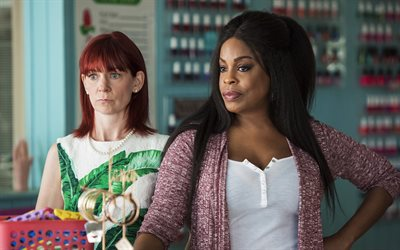 Claws, 2017, 4k, TV series, Carol Denise Tucker, Desna Simms, Polly, Carrie Preston