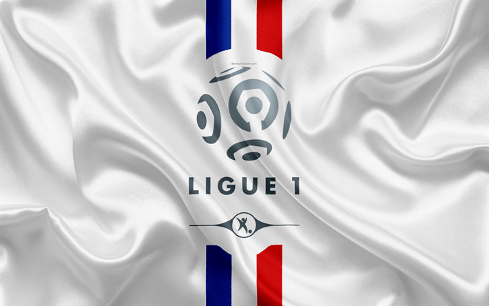 Download Wallpapers France Ligue 1 Logo Emblem 4k French Flag French Football Championships Football Silk Texture Ligue 1 Conforama For Desktop Free Pictures For Desktop Free