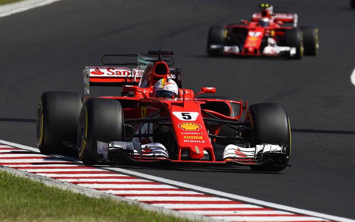 Herunterladen Hintergrundbild Sebastian Vettel 4k 2017 Ferrari Sf70h F1 Formel 1 Ferrari Raceway Für Desktop Kostenlos Hintergrundbilder Für Ihren Desktop Kostenlos