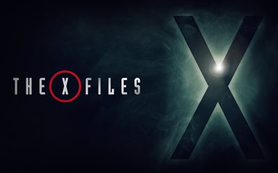 The X Files, 2018, 4k, 11 season, new films, poster