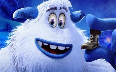 Smallfoot, 2018, Migo, poster, new cartoons, main characters