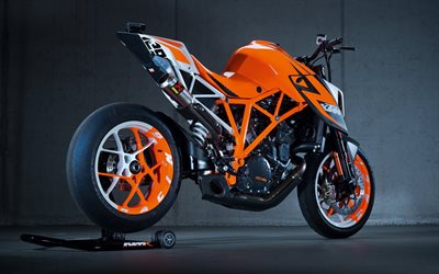 KTM 1290 Super Duke R, 2018, side view, sport motorcycles, V-twin, Austrian motorcycles, KTM