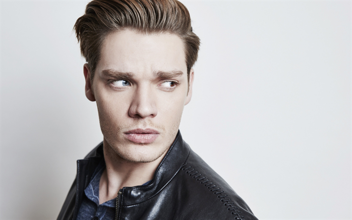 Dominic Sherwood, portrait, young British actor, photoshoot, handsome man