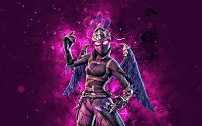 Download Wallpapers Raven Violet Neon Lights 2020 Games 4k Fortnite Battle Royale Fortnite Characters Raven Fortnite Raven Skin Fortnite For Desktop Free Pictures For Desktop Free