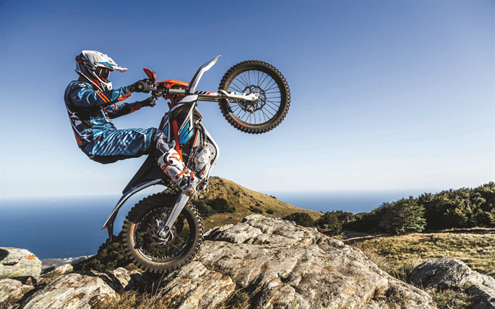 download wallpapers ktm freeride e xc enduro offroad 4k jump 2018 bikes crossbikes. Black Bedroom Furniture Sets. Home Design Ideas