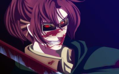 Download Wallpapers Hange Zoe Red Eyes Manga Attack On Titan Squad Leader Shingeki No Kyojin For Desktop Free Pictures For Desktop Free