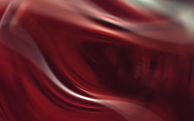 red waves, creative, red background, abstract art, abstract waves