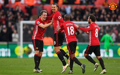 Zlatan Ibrahimovic, Manchester United, Premier League, England, football, Juan Mata, Ashley Young