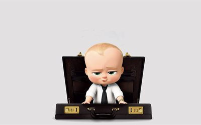 The Boss Baby, 2017, main character, 4k