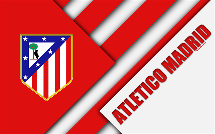Download wallpapers atletico madrid fc 4k spanish football club atletico madrid fc 4k spanish football club atletico logo material design voltagebd Choice Image
