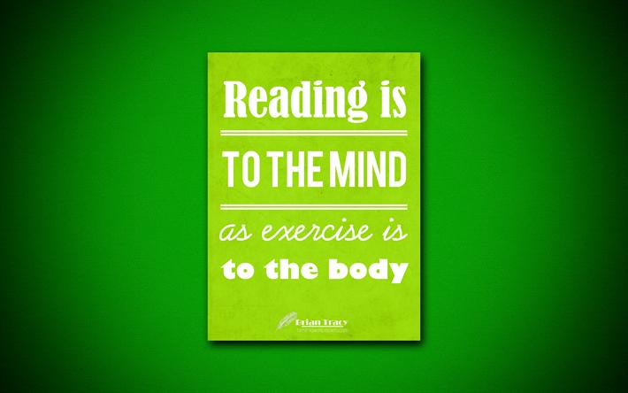 Herunterladen Hintergrundbild Lesen Ist Für Den Geist Als