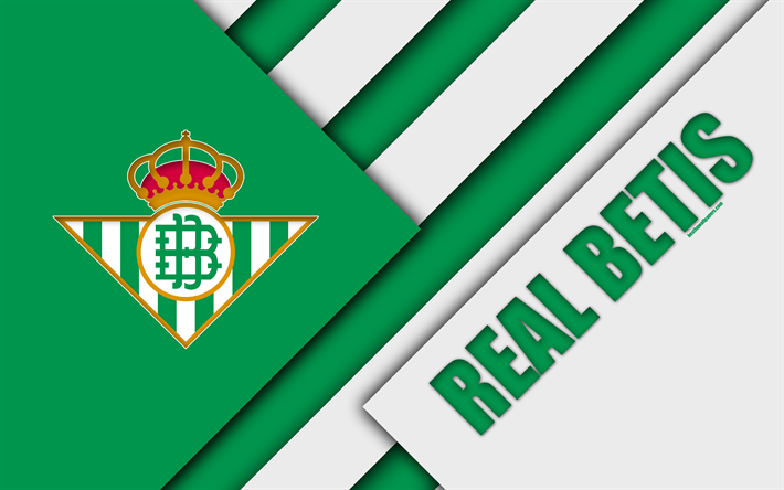 Download Wallpapers Real Betis FC, 4K, Green White