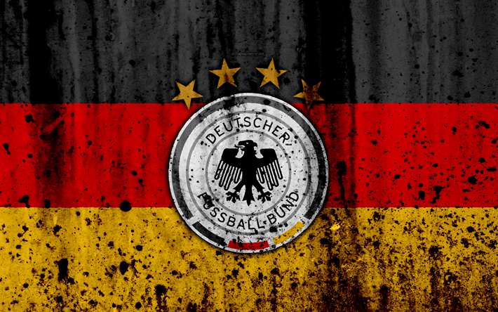 download wallpapers germany national football team 4k