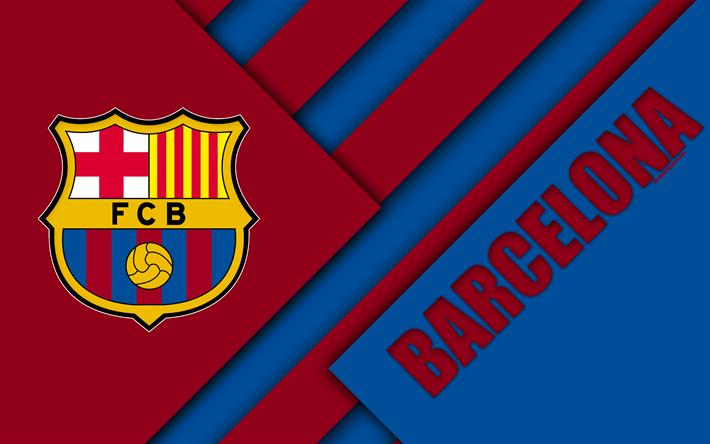 Download Wallpapers Fc Barcelona 4k Spanish Football Club