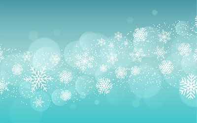 winter blue background, art, background with snowflakes, winter texture, white lines