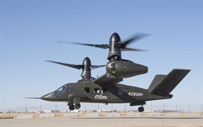 Bell V-280 Valor, 4k, convertoplan, combat aircraft, US Army, Bell