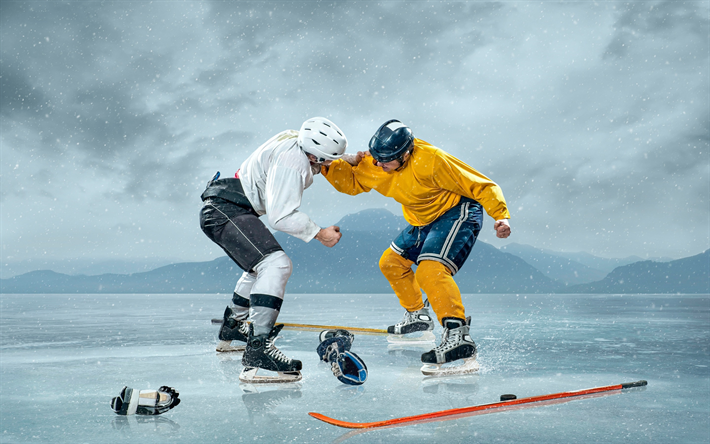 Ice Hockey Spieler