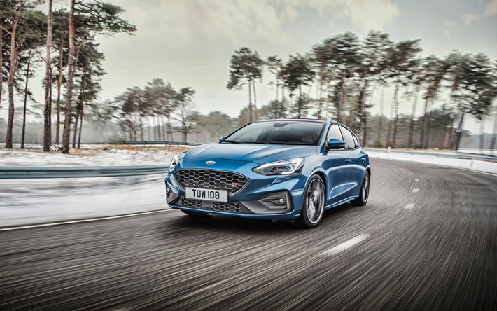 Download Wallpapers 4k Ford Focus St Road 2019 Cars
