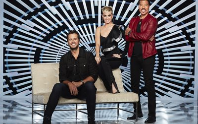 16 Luke Bryan, Katy Perry, Lionel Richie, American Idol, 2018, Sezon, TV dizileri