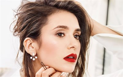 Nina Dobrev, portrait, photoshoot, canadian actress, hollywood star, beautiful woman, Nikolina Kamenova Dobreva
