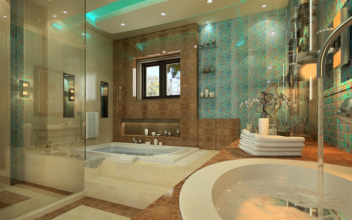 bathrooms designs pictures wallpapers luxurious bathroom design stylish 10612