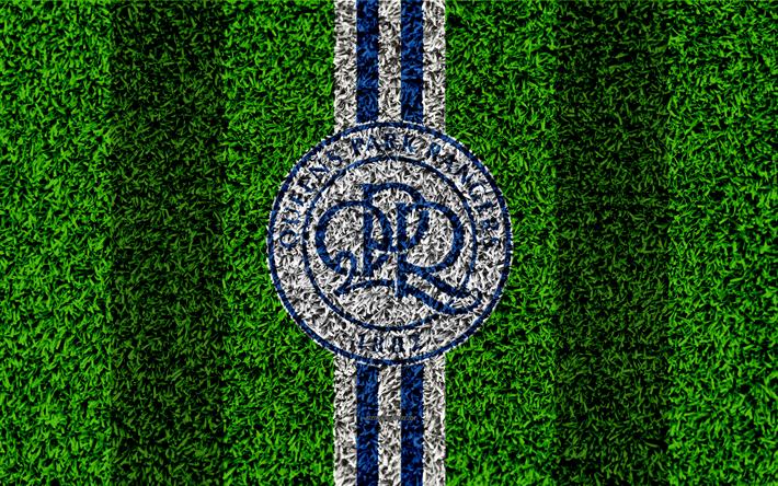 Download Wallpapers QPR FC, Queens Park Rangers, 4k