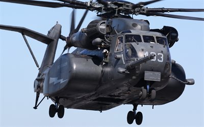 Sikorsky CH-53E Super Stallion, MH-53E, heavy military helicopter, transport aviation, US Navy, US, American helicopters
