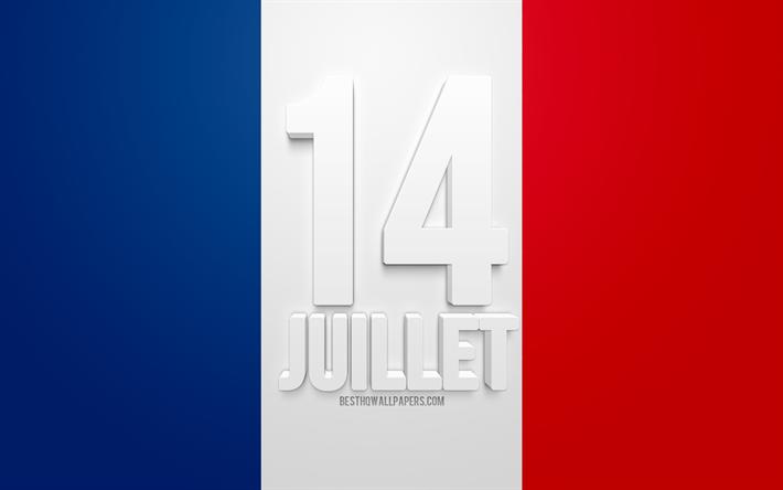Download Wallpapers 14 Juillet Bastille Day 14 Th Of July