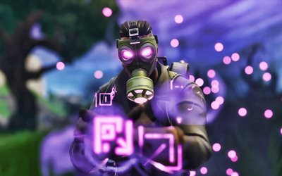 Sky Stalker, soldier, Fortnite Battle Royale, 2019 games, Fortnite, cyber warrior, Fortnite characters, Sky Stalker Fortnite