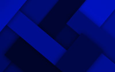 dark blue lines, 4k, material design, creative, geometric shapes, lollipop, lines, dark blue material design, strips, geometry, dark blue backgrounds