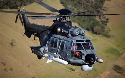 Eurocopter EC225, Brazilian military helicopter, Brazilian Air Force, H225, EC225 Super Puma, Brazil, Airbus Helicopters