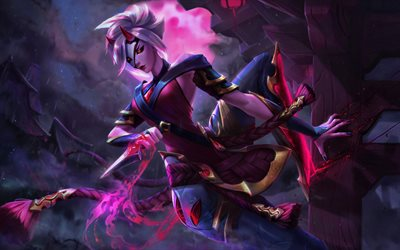 Camille, darkness, MOBA, warrior, League of Legends, Camille League of Legends, artwork, League of Legends characters