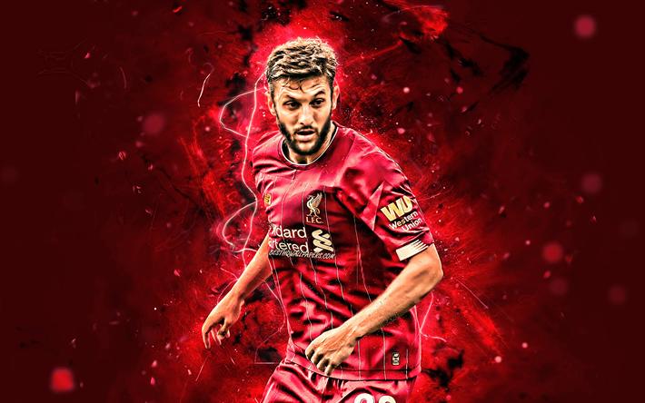 Download Wallpapers Adam Lallana, 2019, Liverpool FC