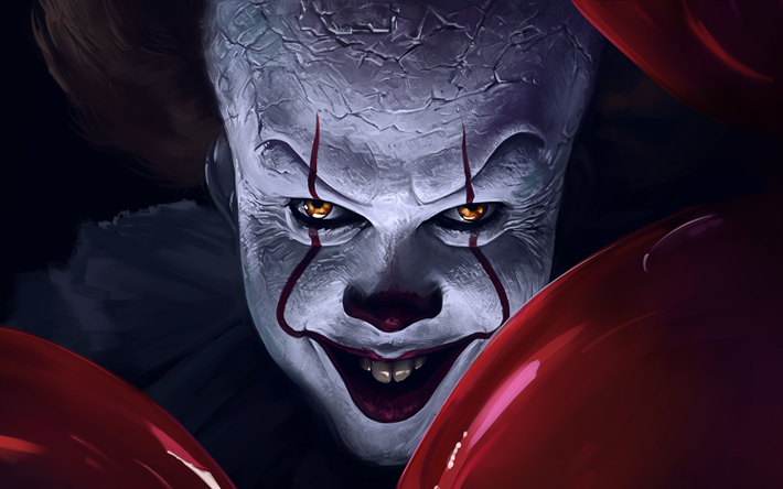 2019 Movies Horror Poster: Download Wallpapers It Chapter Two, 4k, Poster, 2019 Movie