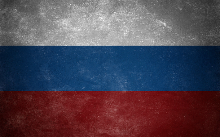Download Wallpapers Flag Of Russia Wall Texture National Symbol