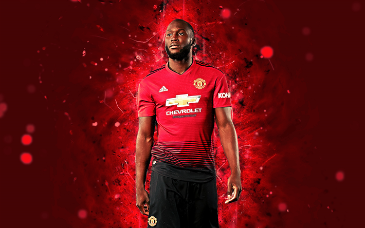 Download Wallpapers Romelu Lukaku, 4k, Season 2018-2019