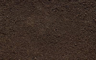 brown soil texture, macro, brown soil backgrounds, soil textures, soil pattern, soil, brown backgrounds
