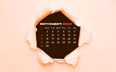 Pagina Di Calendario Settembre 2019.Scarica Sfondi 2019 Settembre Calendario Per Desktop Libero