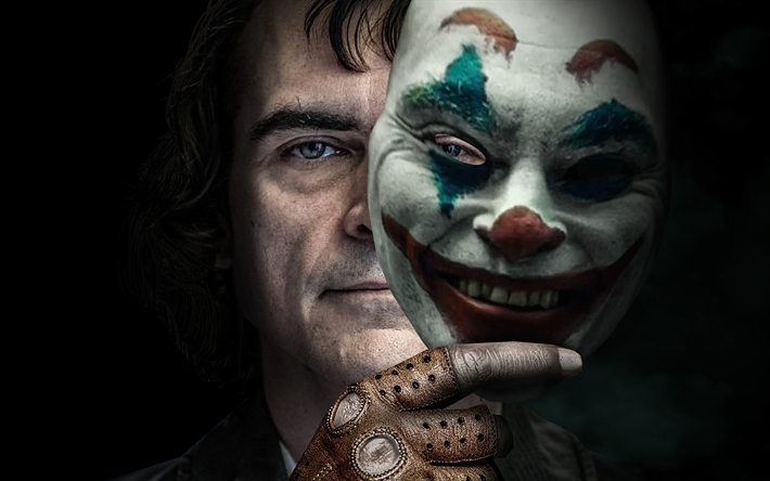 Joker, 4k, poster, 2019 Movie, Arthur Fleck, Joaquin Phoenix, 2019 Joker