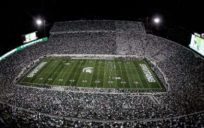 Spartan Stadium, de la Universidad de Campo, Macklin Stadium, East Lansing, Michigan, Michigan State Spartans Estadio, estados UNIDOS, el fútbol Americano, de la NCAA