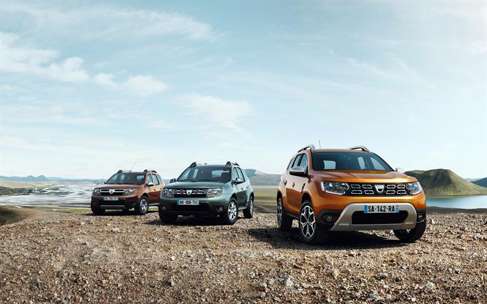 Descargar Fondos De Pantalla Dacia Duster 4k 2018 Los