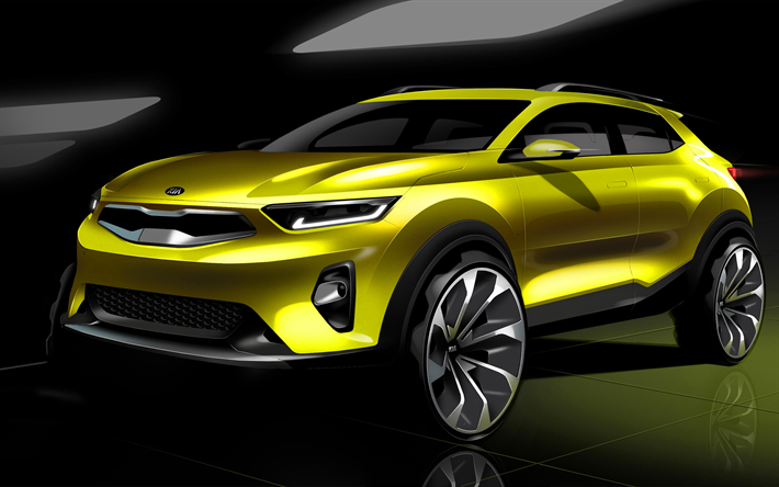 Kia Stonic, Concepts, new cars, crossovers, Korean cars, Kia