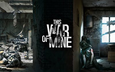 This War Of Mine, 5k, poster, survival