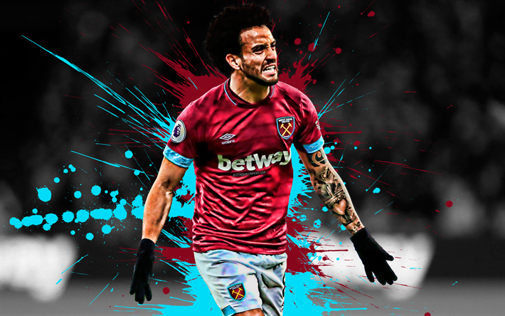 Download Wallpapers Felipe Anderson 4k Brazilian Football