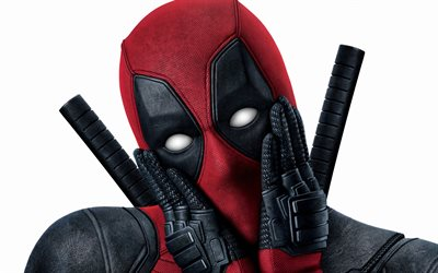 Deadpool, superhero, main characters of the films, Deadpool mask