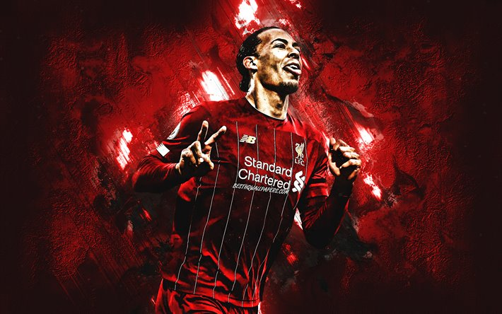 Download Wallpapers Virgil Van Dijk, Liverpool FC, Dutch